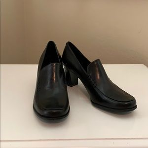 New Franco Sarto Black Leather Nolan Loafer